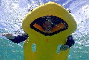 Glass-bottom-snorkel