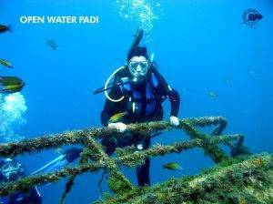 Open water PADI Lanzarote
