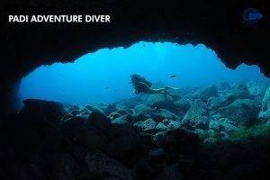 PADI adventure diver Lanzarote