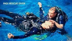 Padi Rescue diver Lanzarote