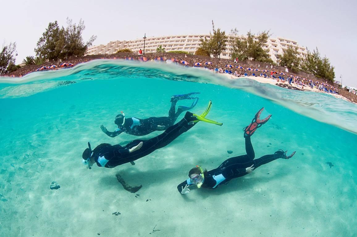 Alquiler snorkel en Lanzarote