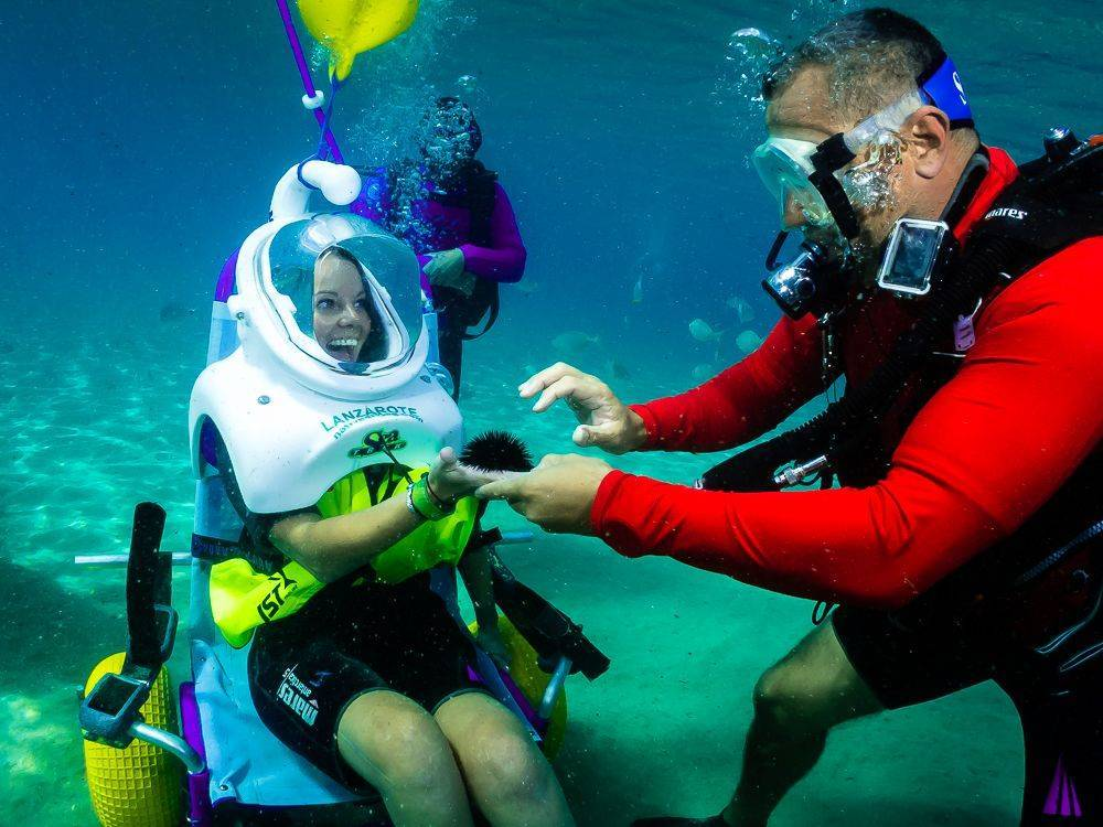 Sea Trek for handicaped